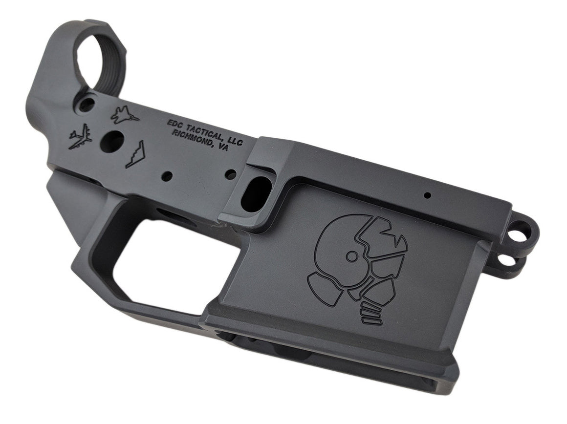 EDC Tactical The Eagle AR-15 Lower Receiver Passenger Side - SNIPER GREY CERAKOTE