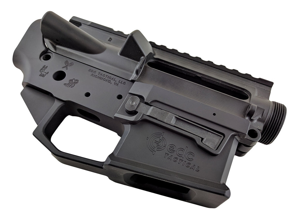 Tijuana Especial EDC-9 Upper Lower Receiver Combo Set Passenger Side - GRAPHITE BLACK CERAKOTE