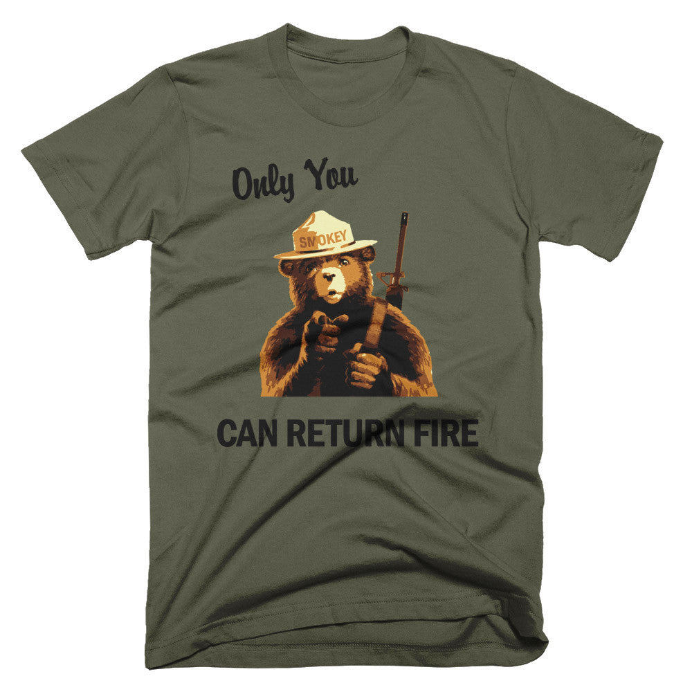 Smokey - Only You Can Return Fire T-Shirt