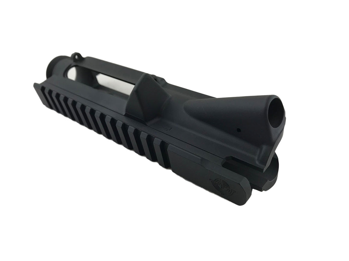 EDC Tactical - AR-15 - Stripped Upper Receiver - Passenger Side - SNIPER GREY CERAKOTE