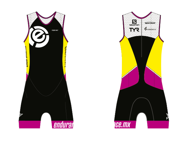TRISUIT WOMAN SLEEVELESS CUSTOM ENDURANCE