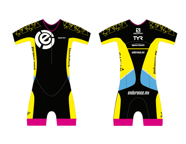 TRISUIT WOMAN WITH SLEEVE CUSTOM ENDURANCE