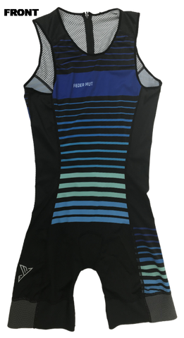 TRISUIT DEEP BLUE SLEEVELESS