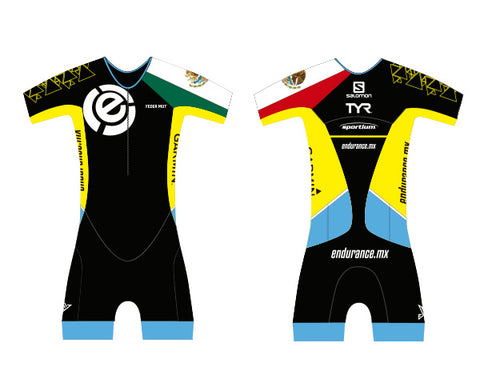TRISUIT MEN WITH SLEEVE CUSTOM ENDURANCE MEXICO