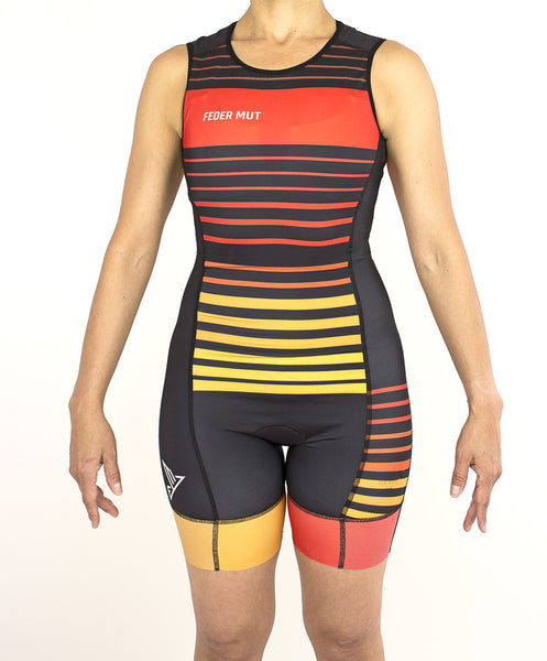 TRISUIT WOMAN SUNSET SLEEVELESS 2089