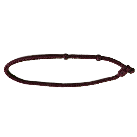 Calf roping neck rope square
