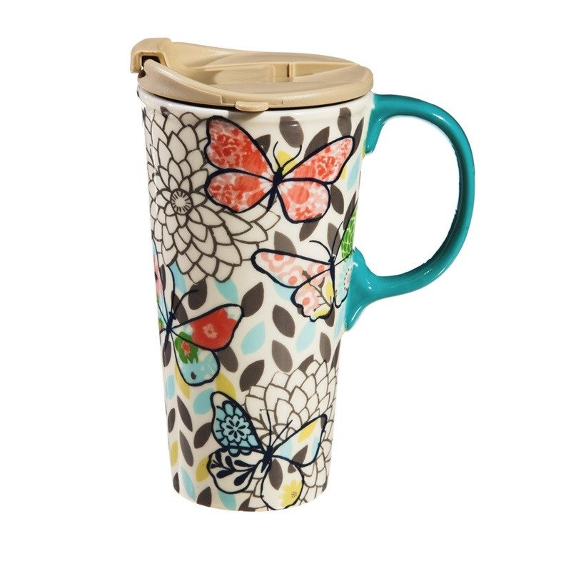 Tasse de transport Butterfly