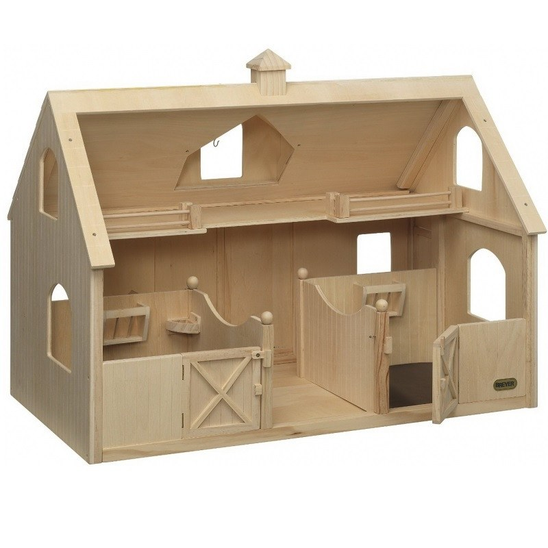 Breyer Traditional écurie en bois Deluxe