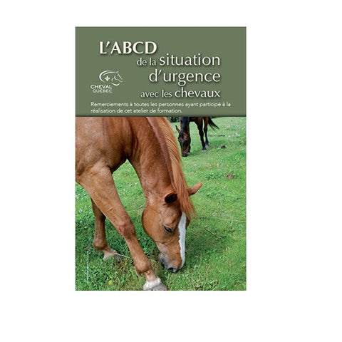 ABCD situation d'urgence avec chevaux