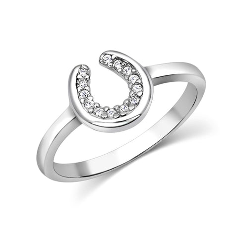 Bague Horseshoe Sparkle