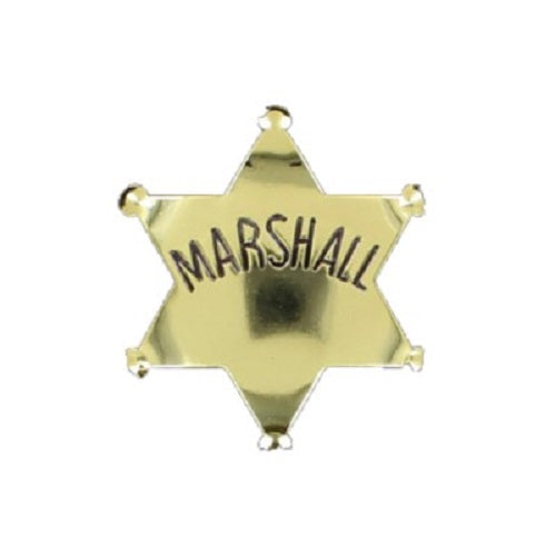 Badge Marshall Or