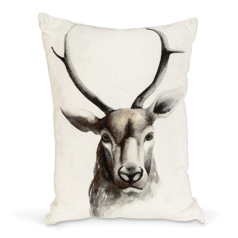 Coussin rectangulaire cerf