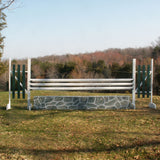 Hunter Show Ring Jump Package Wood Horse Jumps 6ftx12ft - Platinum Jumps