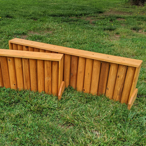 Rail Brush Box Horse Jumps Set/2