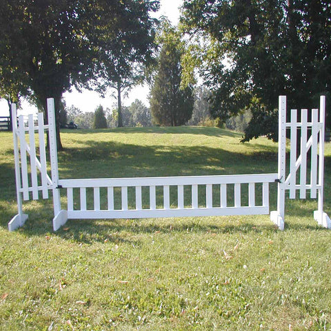 Ladder Gate Wood Horse Jumps - Platinum Jumps