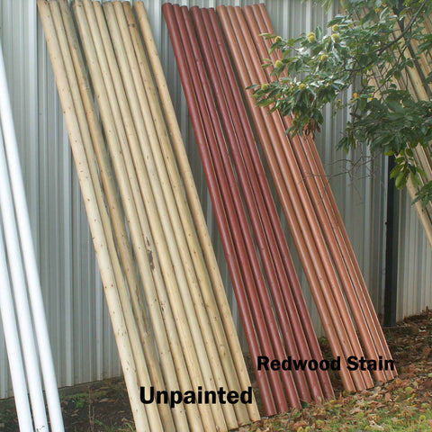 Unpainted Rails/Poles Wood Horse Jumps - Platinum Jumps
