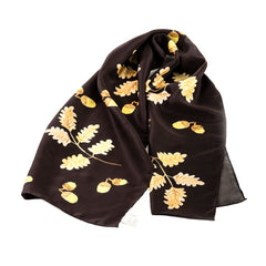 acorn silk scarf evemy and evemy country silk scarves