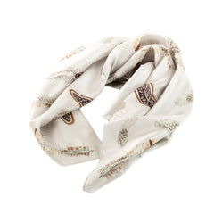 game bird feather scarf country scarf
