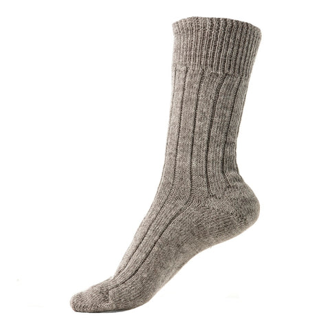 Alpaca Lounge Socks in Fog