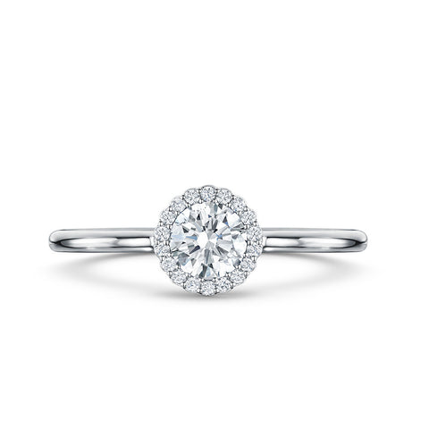 Andrew Geoghegan 18ct White Gold 0.34ct Diamond Ring