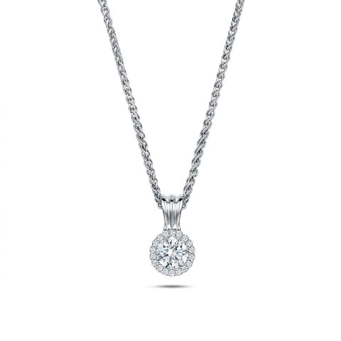 Andrew Geoghegan 18ct White Gold Diamond Necklace
