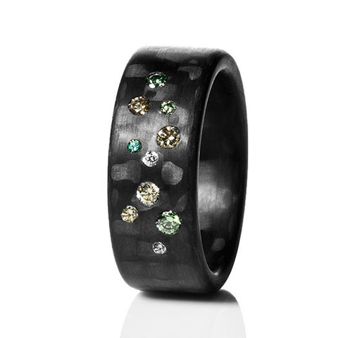 Anne Cohen C6 Earth Diamond Ring