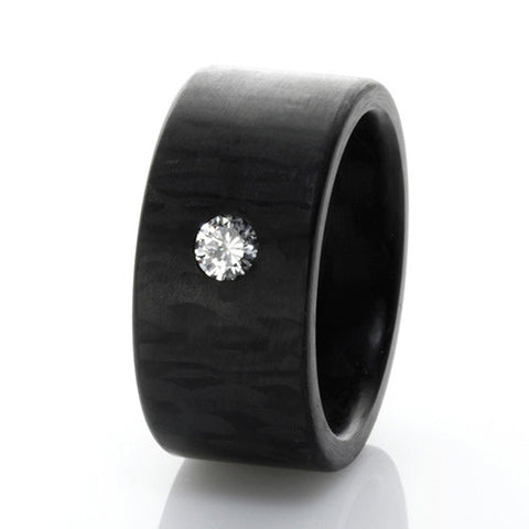 Anne Cohen C6 Elemental Brilliant Cut Diamond Ring