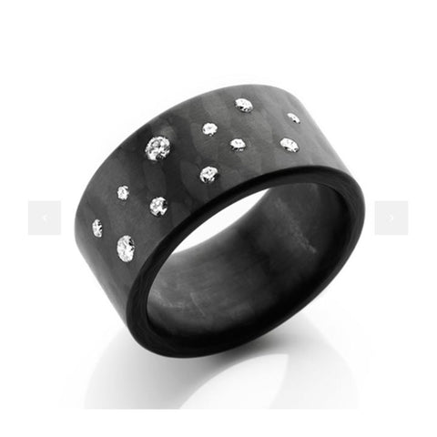 Anne Cohen C6 Stardust 11 Diamond 0,26 ct Ring