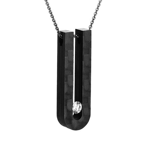 Anne Cohen C6 Venus Long Diamond Necklace