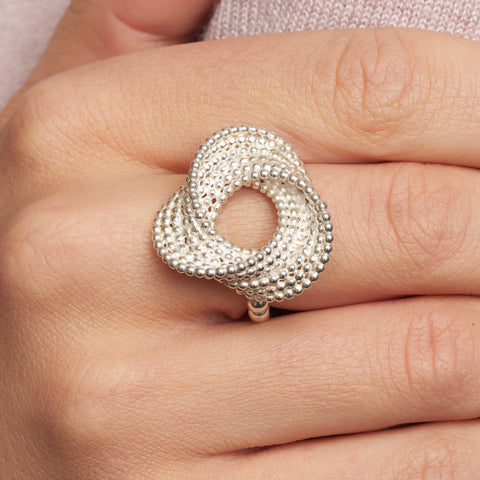 Atelier Luz Bubble Silver Ring