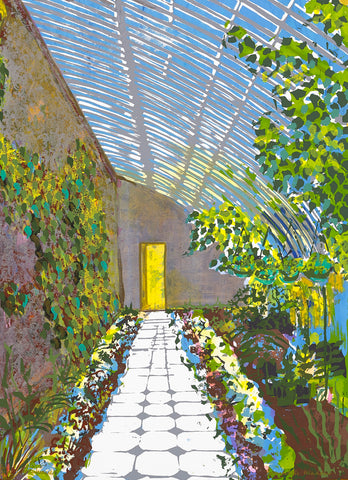 Bernadette Madden 'Greenhouse' Limited Edition Screenprint