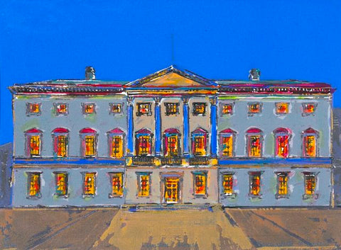 Bernadette Madden 'Leinster House' Limited Edition Screenprint