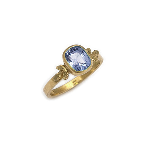 Beth Gilmour Blue Sapphire 9ct Yellow Gold Ring