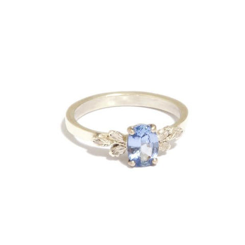 Beth Gilmour 9ct White Gold Blue Sapphire Ring