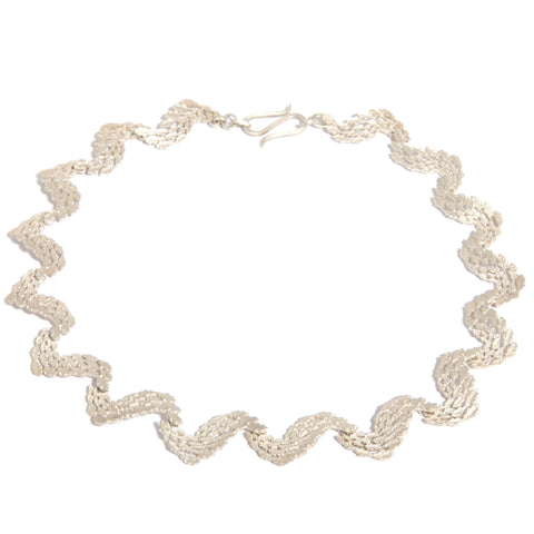 Beth Gilmour Ripple Silver Necklace 2