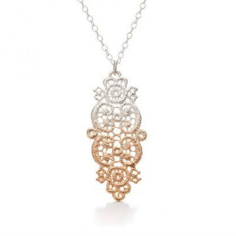 Brigitte Adolph Rose Gold Plated Silver Necklace