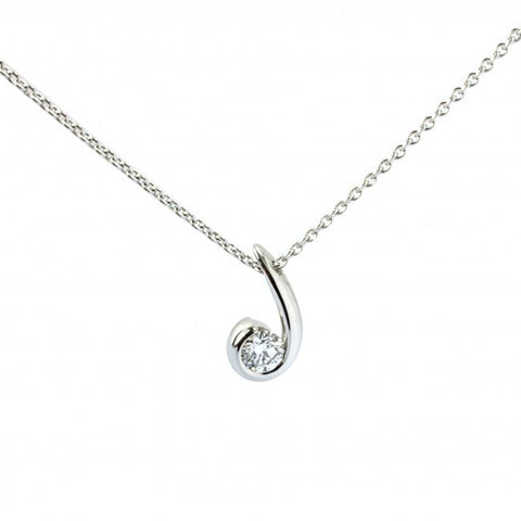 Christian Stockert 18ct White Gold Diamond Necklace