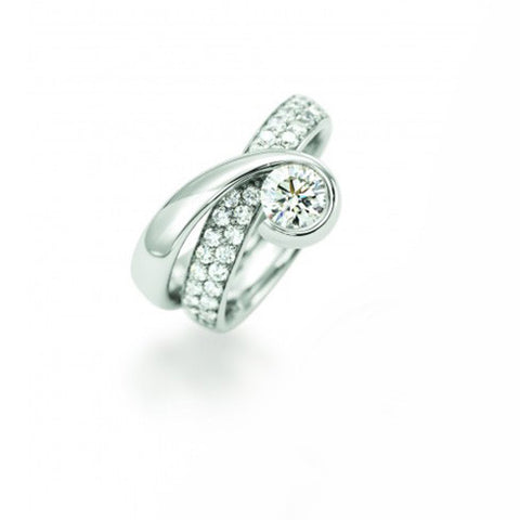 Christian Stockert 'Rapt' 18ct White Gold Diamond Ring