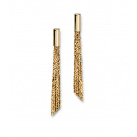 Claudia Milic Gold Plated Silver Earrings