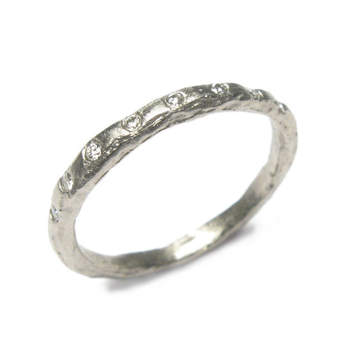 Diana Porter 18ct White Gold 8 Diamond Ring