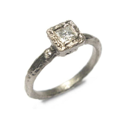 Diana Porter 18ct White Gold Princess Cut Diamond Ring