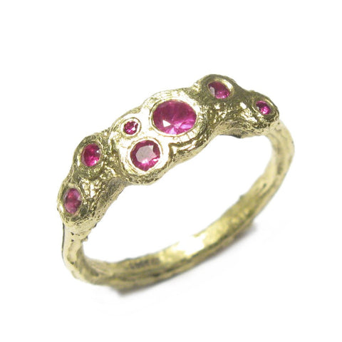 Diana Porter Ruby 18ct Yellow Gold Ring