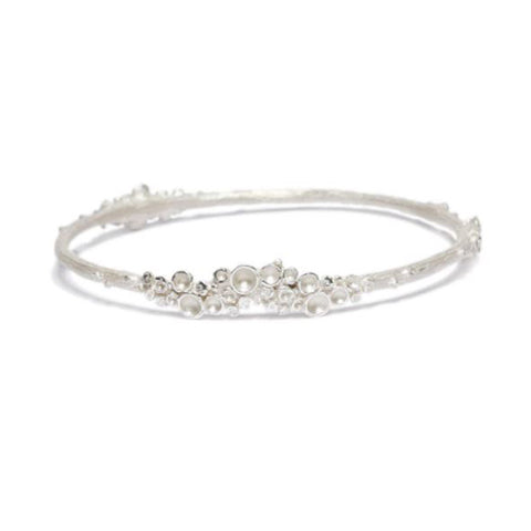 Diana Porter Emerge Bangle Silver Bracelet