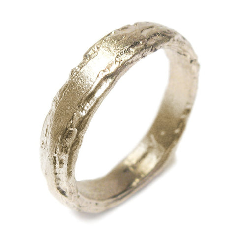 Diana Porter Etched 18ct Yellow Gold Ring