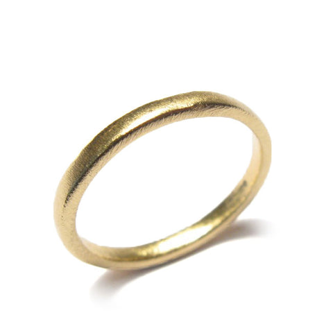 Diana Porter Smooth 18ct Yellow Gold Ring