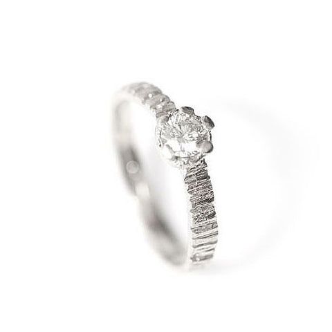 Eily O'Connell Sunbark 18ct White Gold Diamond Ring