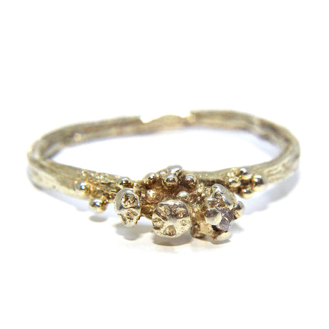 Eily O'Connell 18ct Yellow Gold Diamond Ring