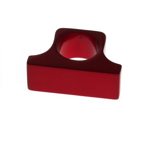 Filip Vanas Robust Red Aluminium Ring