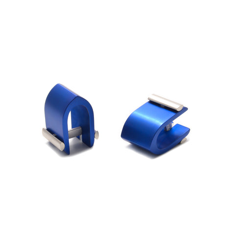 Filip Vanas Blue Affinor Wrap Around Cufflinks