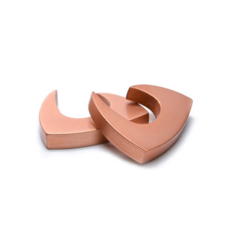 Filip Vanas Tangent Light Copper Aluminium Cufflinks